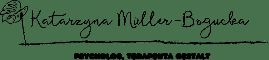 Psycholog Tychy. Katarzyna Muller-Bogucka, Terapeuta Gestalt - logo